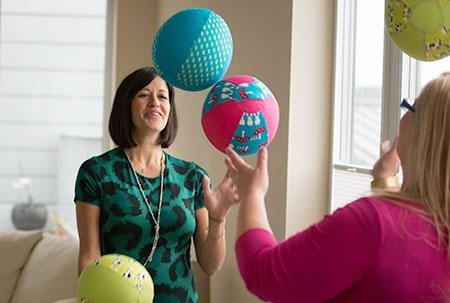 Elena and Lorna, BubaBloon Founders